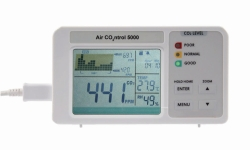 Medidor de CO2, Air CO2ntrol 5000 WWW-Interface