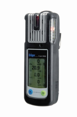 Gas detector X-am® 2500 WWW-Interface
