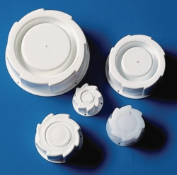 Tapones roscados, HDPE