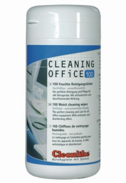 Toallitas limpiadoras con alcohol Cleaning Office
