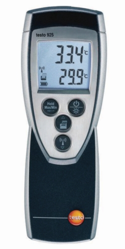 Medidor de temperatura testo 922 WWW-Interface