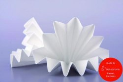 Filter paper, qualitative, wet strength, folded filters