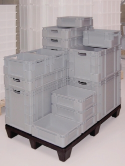 Stacking and storage containers, PP WWW-Interface